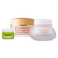 Cosmetic creams (in jars)