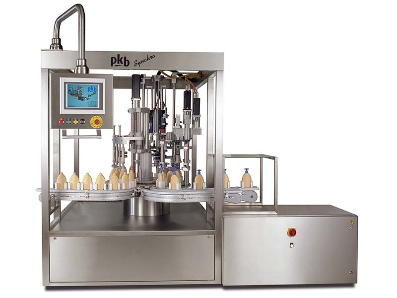 PKB SYNCHRO Foundation : filling/capping machine up to 50 bpm