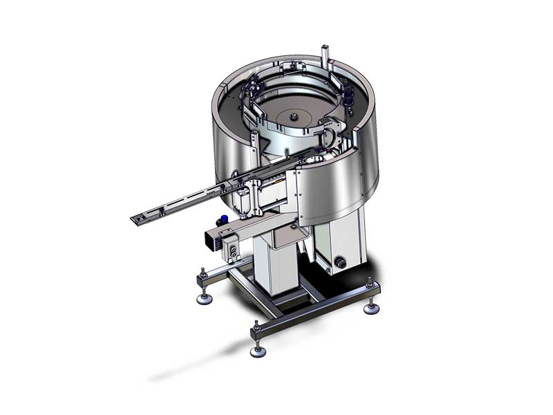 Lid sorting bowl up to 70 upm