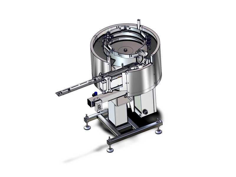 Perfume mini-pump sorting bowl up to 200 upm