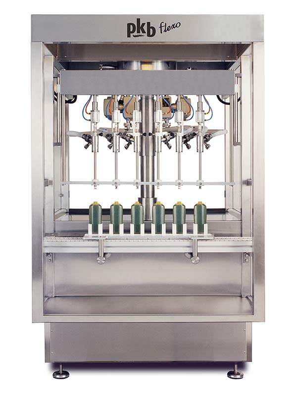 PKB FLEXO Hair-dye : filling machine up to 160 bpm