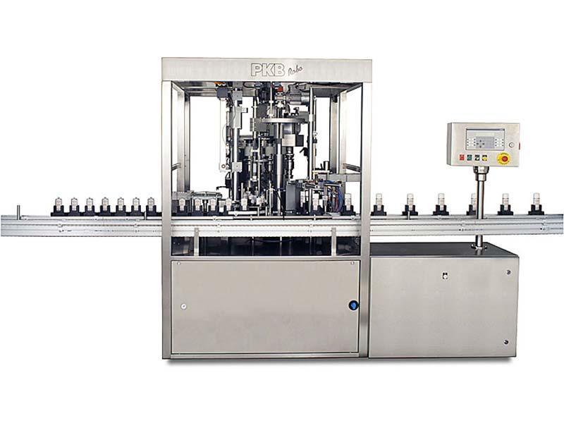 PKB ROBO Nail Varnish: filling/capping machine up to 50 bpm