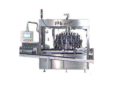 PKB MASSFLO COSMETICS : filling/capping machine up to 200/400 bpm