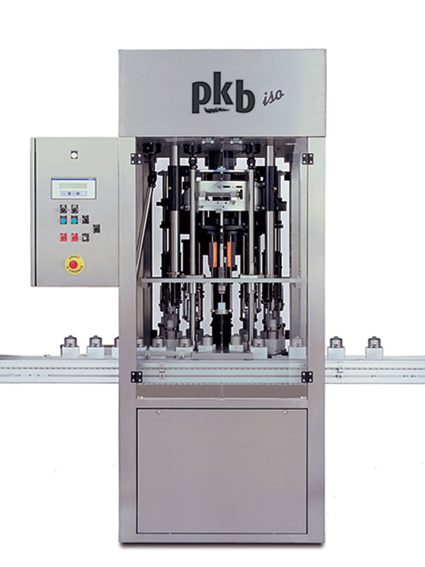 PKB ISO PERFUME: rotary constant-level filling machine up to 200 bpm