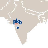 Le site de PKB en Inde